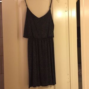 H&M mini party dress (navy)